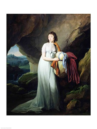 portrait-of-a-woman-in-a-cave