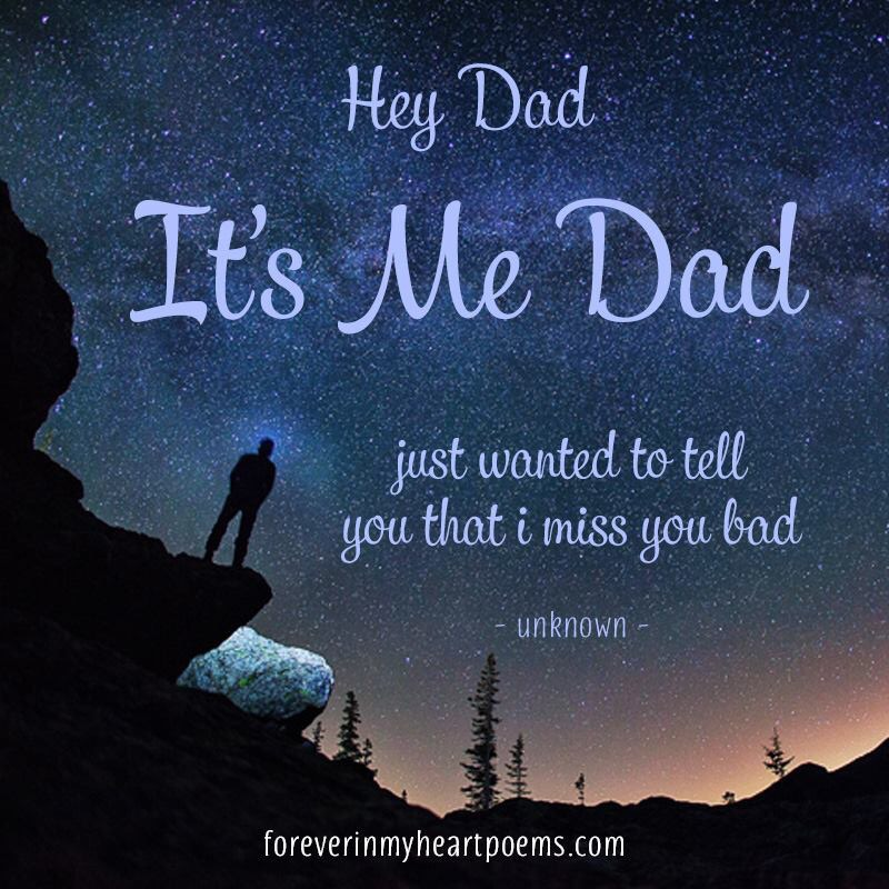 """I Miss My Father He Died Quotes: """"Gone But Forever In My Heart"""""""